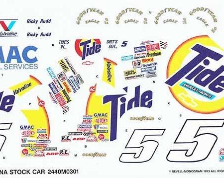"1992 Revell #5 ""Tide"" Chevy Lumina - Ricky Rudd"