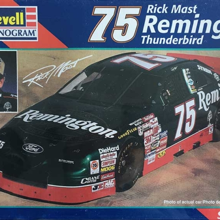 "1997 ""Remington"" Ford Thunderbird #75 Rick Mast Revell Monogram 85-2518"
