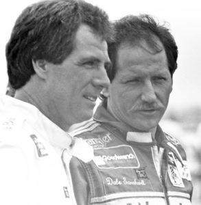 Darrell Waltrip und Dale Earnhardt