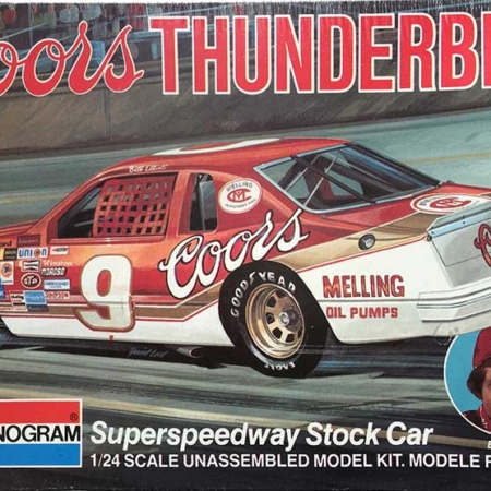 "1984 ""Coors"" Ford Thunderbird #9 Bill Elliott Monogram 2244"