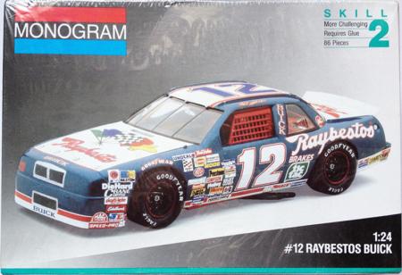 1991 Buick Raybestos #12 Hut Stricklin Monogram 2431