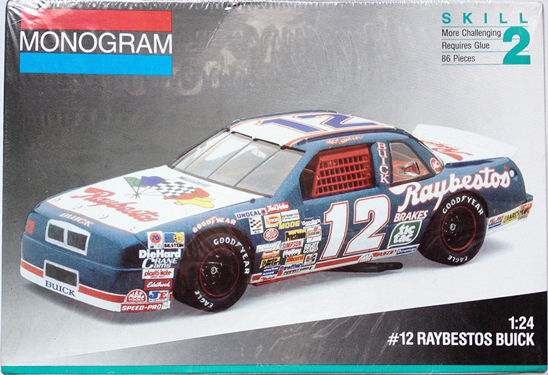 1991 Buick Raybestos #12 Hut Stricklin Monogram 2431
