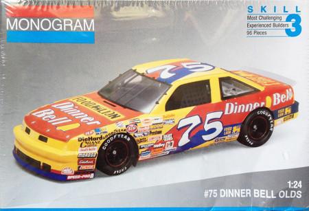 1991 Oldsmobile Dinner Bell #75 Joe Ruttman Monogram 2432