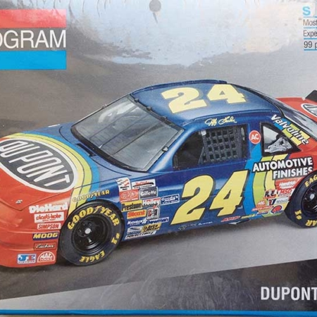 Jeff Gordon Archive Fishwish Racing Nascar Model Kits