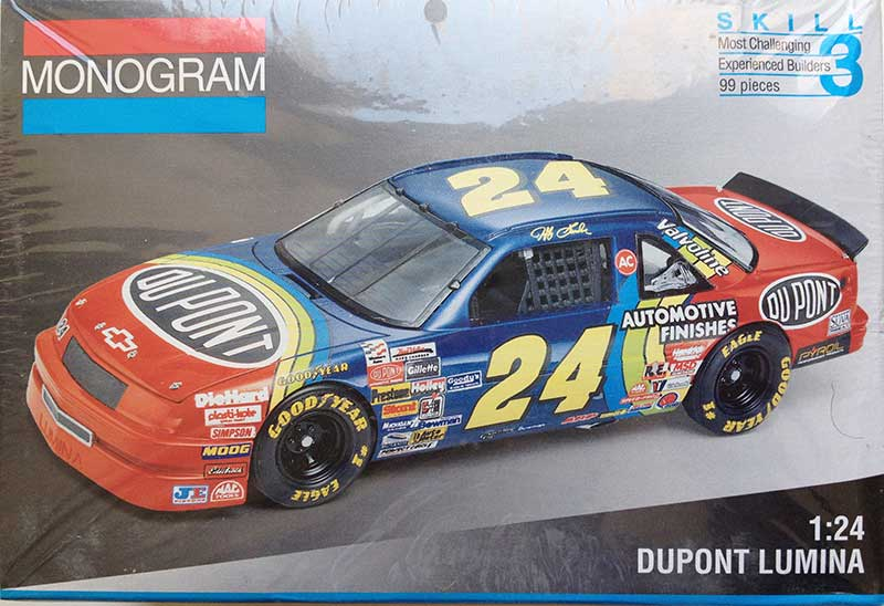 1993 Du Pont Chevy Lumina 24 Jeff Gordon Monogram 2441
