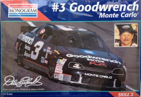"1995 ""Goodwrench"" Chevy Monte Carlo #3 Dale Earnhardt Monogram 2447"