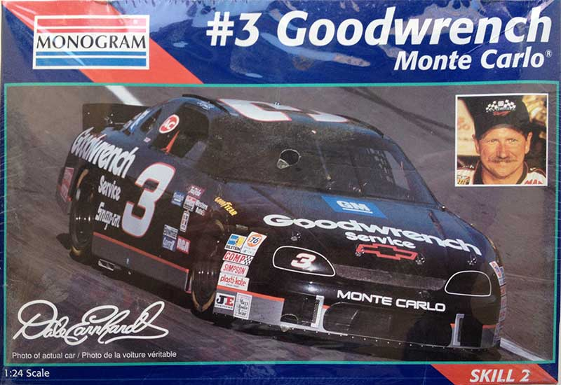 1995 Goodwrench Chevy Monte Carlo 3 Dale Earnhardt Monogram 2447