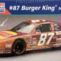 "1995 ""Burger King"" Chevy Monte Carlo #87 Joe Nemechek Monogram 2468"