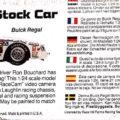 1985 Valvoline Buick Regal Ron Bouchard