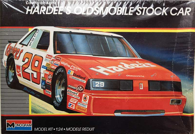 "1987 ""Hardee's"" Oldsmobile #29 Cale Yarborough - Monogram 2754"
