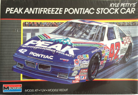 "1989 ""Peak Antifreeze"" Pontiac Grand Prix #42 Kyle Petty Monogram 2906"
