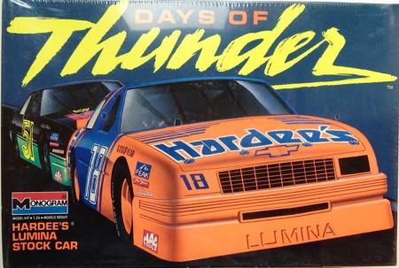 """1990 """"Hardee's"""" #18 Chevy Lumina - Russ Wheeler - Monogram 2920"""