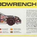 1991 NASCAR Goodwrench Chevy Lumina #3 Dale Earnhardt Monogram 2927