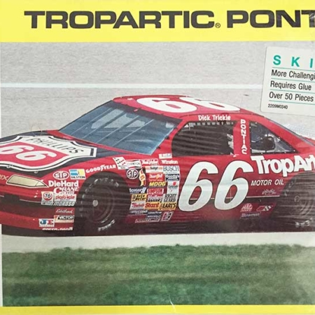 "1990 ""Tropartic"" Pontiac Grand Prix #66 Dick Trickle Monogram 2930"