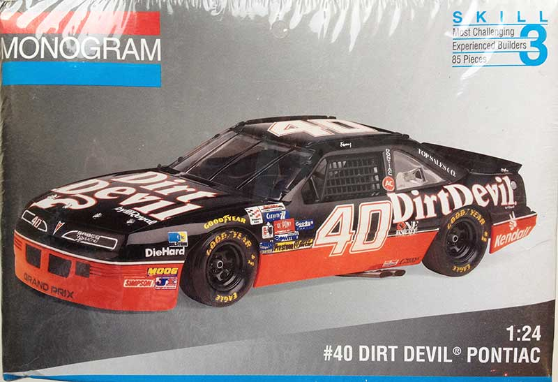 1994 Dirt Devil Pontiac Grand Prix #40 Kenny Wallace