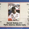 "1998 ""Parts America"" Chevy Monte Carlo #17 Darrell Waltrip Revell 02-1297"