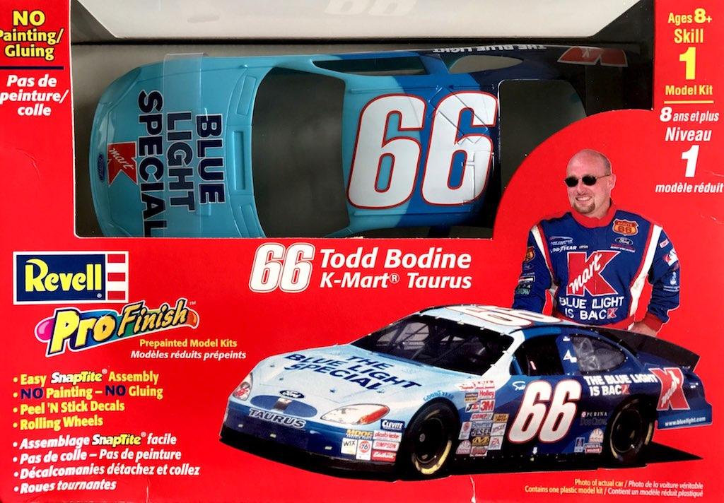 "2001 ""K-Mart"" Ford Taurus #66 Todd Bodine ProFinish Revell 85-1358"