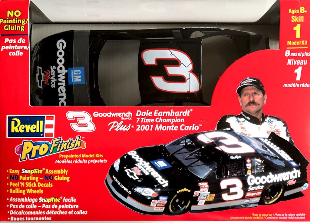 2001 Goodwrench Chevy Monte Carlo 3 Dale Earnhardt Revell Profinish 1359