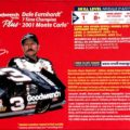 "2001 ""Goodwrench"" Chevy Monte Carlo #3 Dale Earnhardt Revell ProFinish 1359"