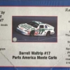 "1997 ""Parts America"" Chevy Monte Carlo #17 Darrell Waltrip Revell 20-0897"