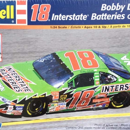 "2002 ""Interstate Batteries"" Pontiac Grand Prix #18 Bobby Labonte Revell 85-2162"