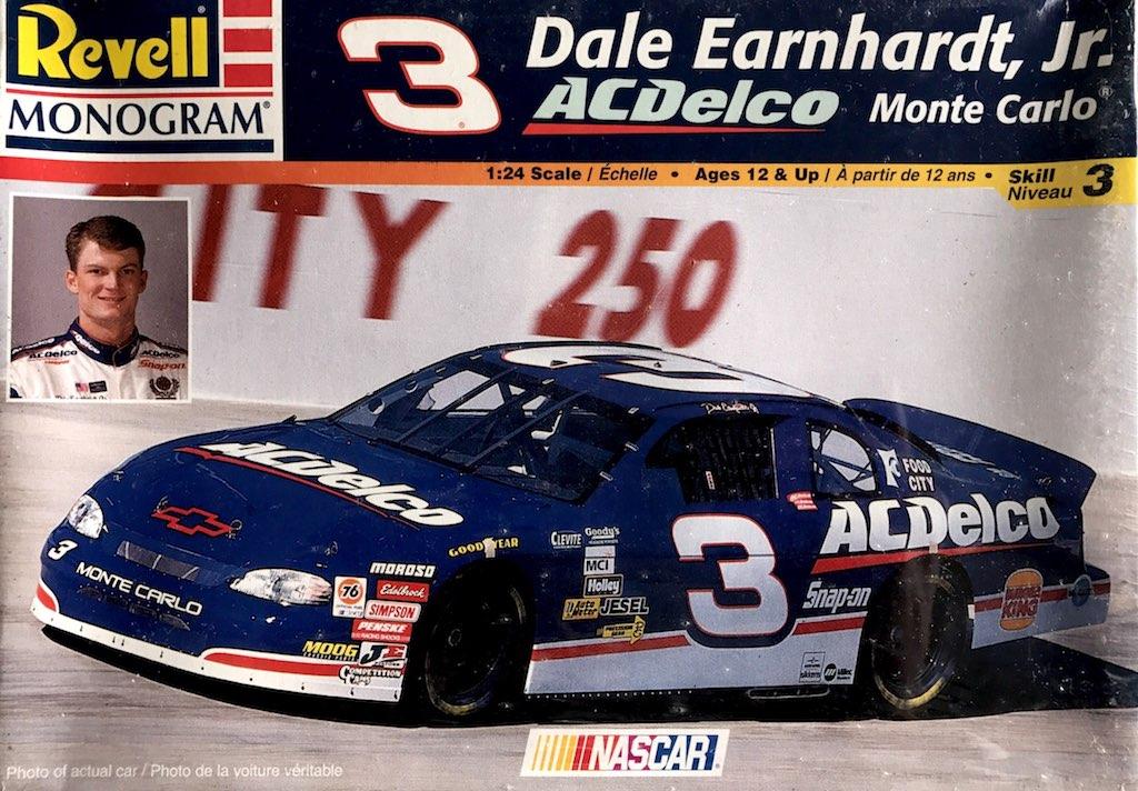 "1998 ""ACDelco"" Chevy Monte Carlo #3 Dale Earnhardt Jr. Revell Monogram 85-2587"