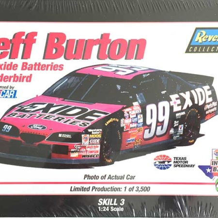 "1997 ""Exide"" Ford Thunderbird #99 Jeff Burton Revell 28-0897"