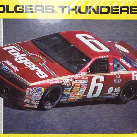 """1990 """"Folgers"""" Ford Thunderbird #6 Mark Martin Revell 2928"""