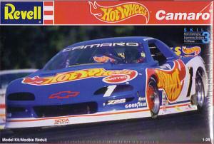Revell 7357 SCCA Camaro Hot Wheels #1 Jack Baldwin