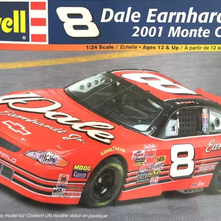 """2001 """"Dale"""" Chevy Monte Carlo #8 Dale Earnhardt Jr. Revell 85-2358"""