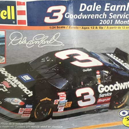 "2001 ""Goodwrench Service Plus"" Chevy Monte Carlo #3 Dale Earnhardt Revell 85-2375"