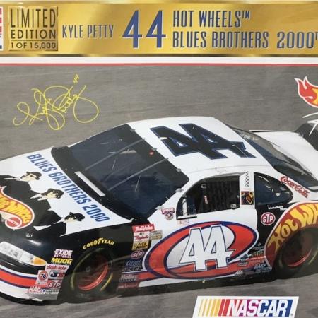 "1998 ""Blues Brothers / Hot Wheels"" Pontiac Grand Prix #44 Kyle Petty Revell Monogram 85-4136"
