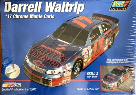 "1997 ""Parts America"" Chevy Monte Carlo #17 Darrell Waltrip Revell REVD038"